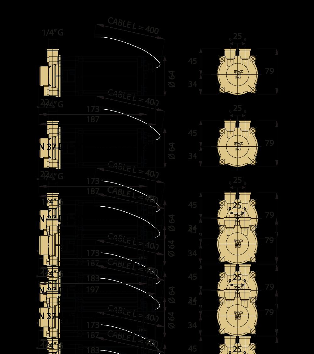 specifica tecina KN 37 DC24V