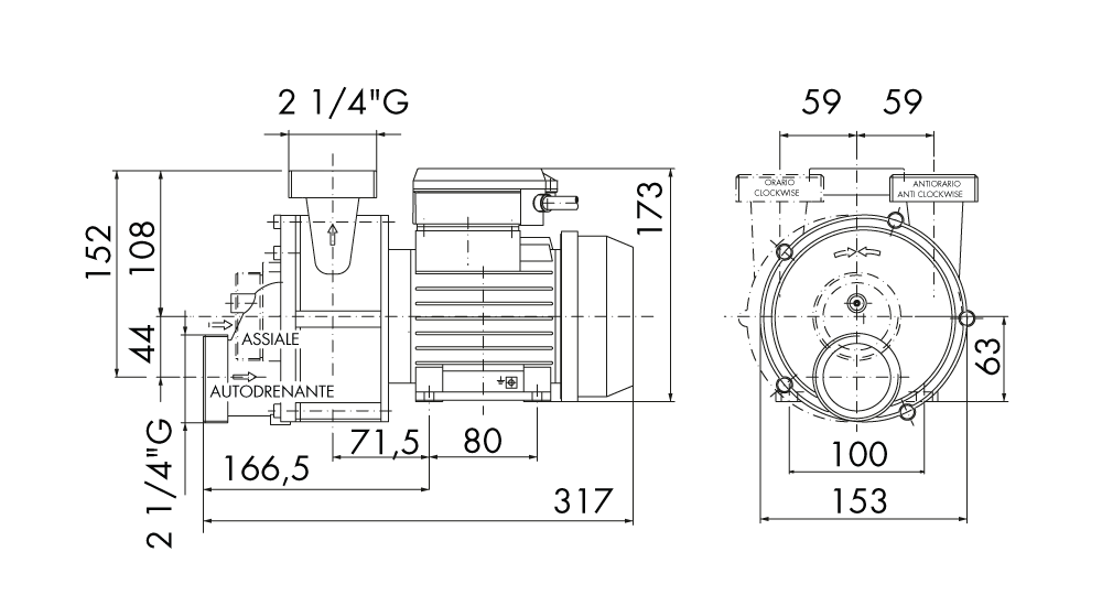 specifica tecina SAM 80