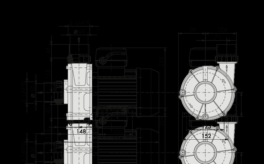 specifica tecina SAM 2 200 (4 poles)